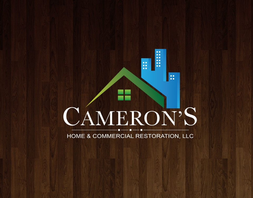 Cameron's Home and Commercial Restoration logo