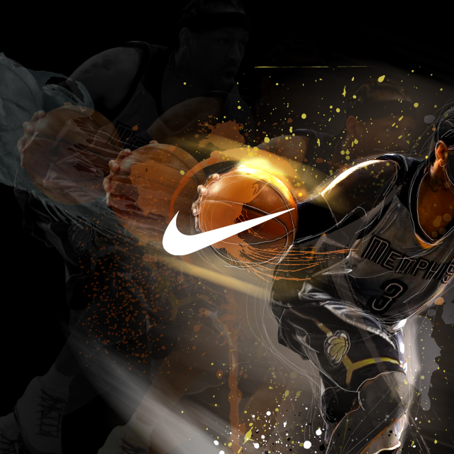 JN Design Studio Nike Illustration