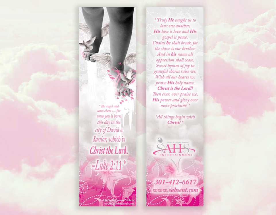 SAHS Entertainment bookmark